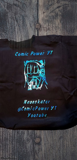 ComicPower YT tote bag with keychain