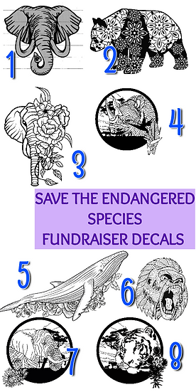 Save The Endangered Species Tumbler