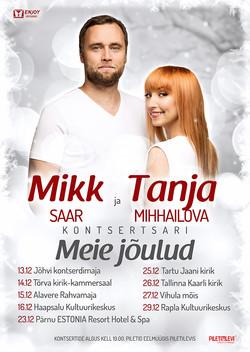 Tanja Mihhailova ja Mikk Saar