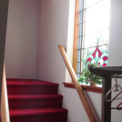 Stairs to Balcony