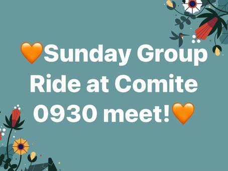 Comite is Open!! Go ride!!