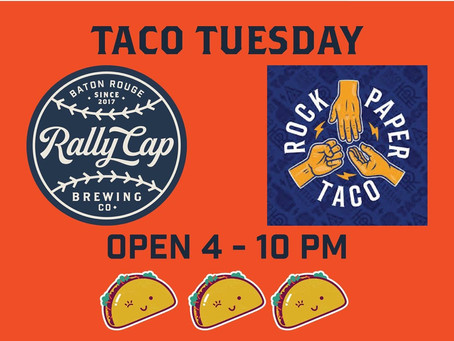 Taco Tuesday Takeover!