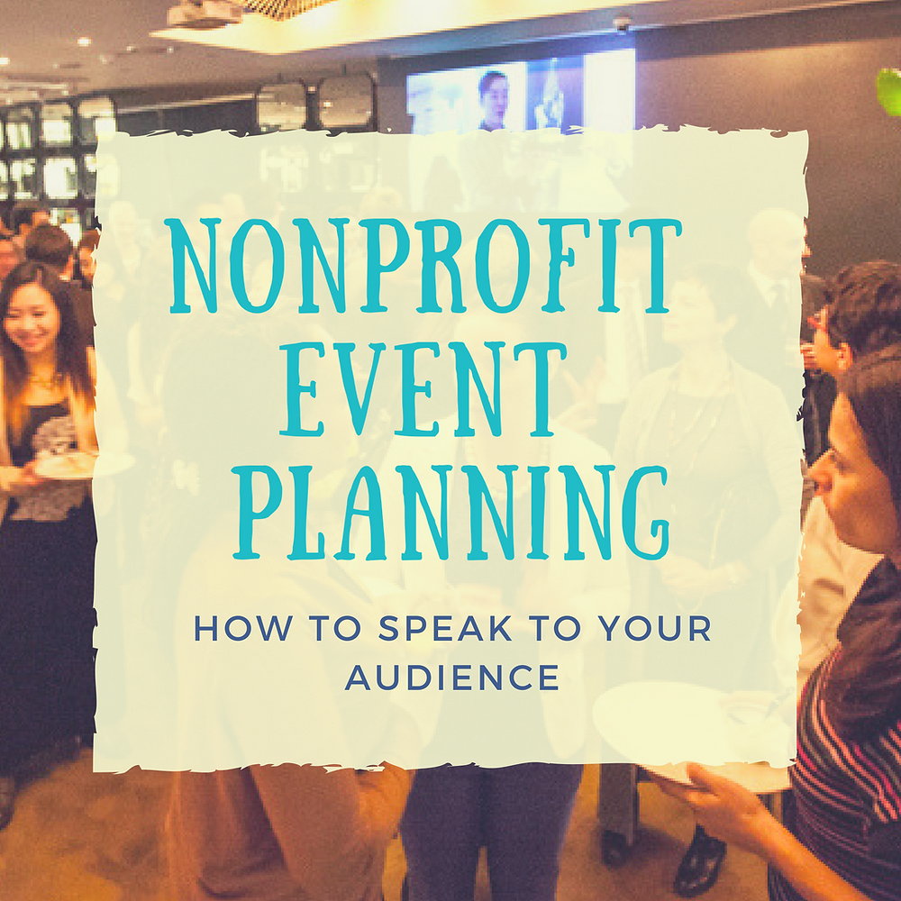 Event planning for nonprofits