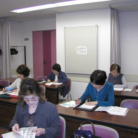 筆ペン教室様子2