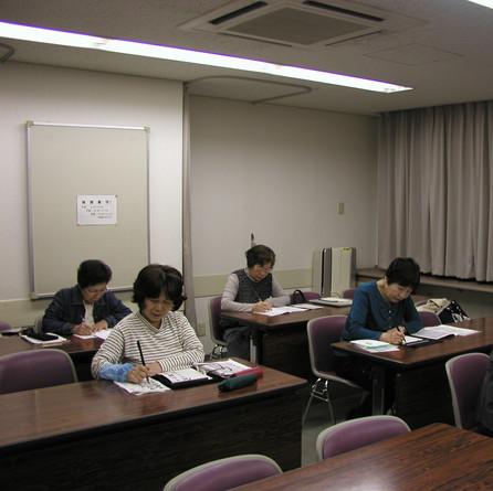 筆ペン教室様子1