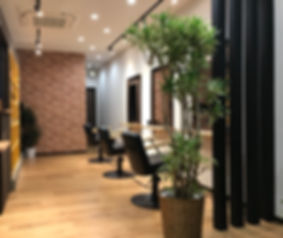 Brick Hair Salon 室内