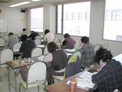 筆ペン教室様子5