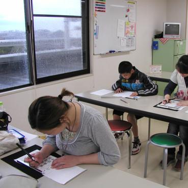 筆ペン教室様子4