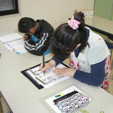 筆ペン教室様子11
