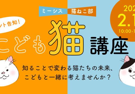 【ミーシス×猫ねこ部】イベント開催のお知らせ