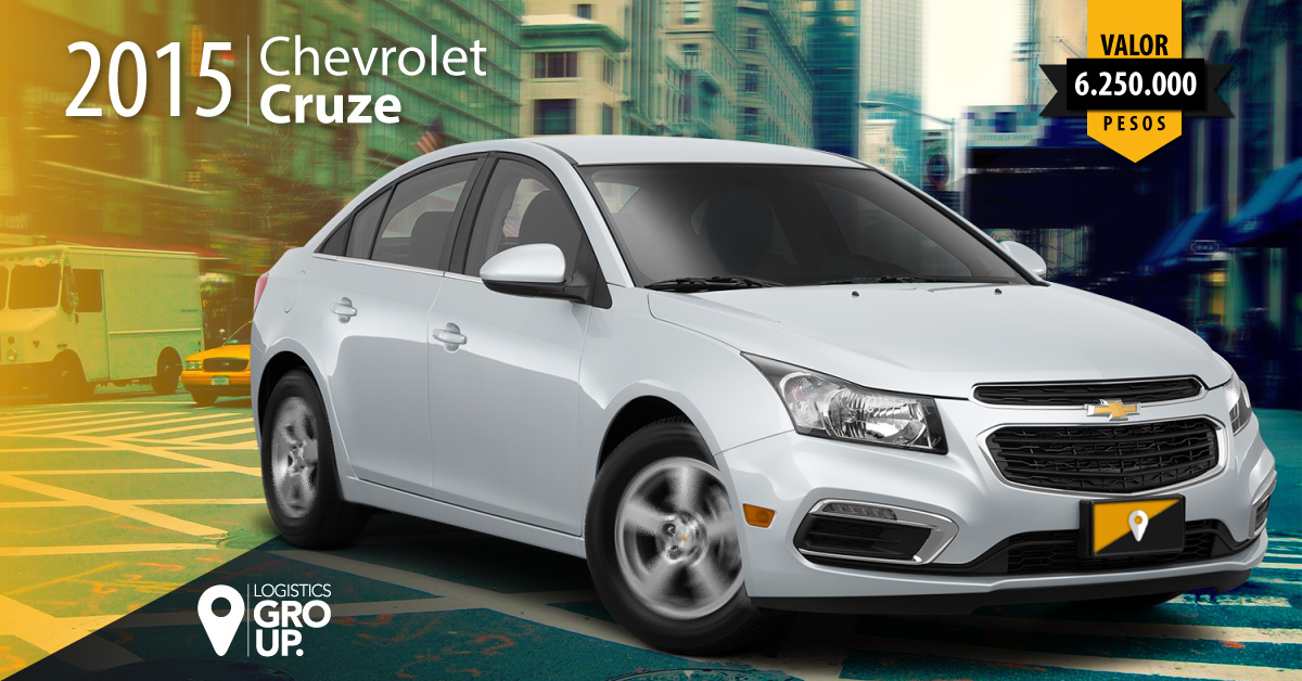 CHEVROLET CRUZE 2015 LOGISTICS GROUP