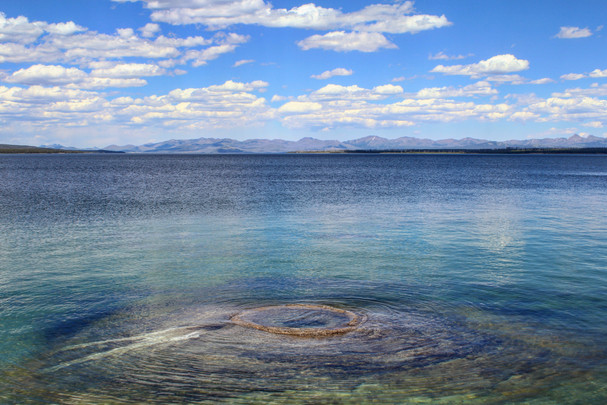 Yellowstone National Park - View of Yellowstone Lake from West Thumb Geyser Basin