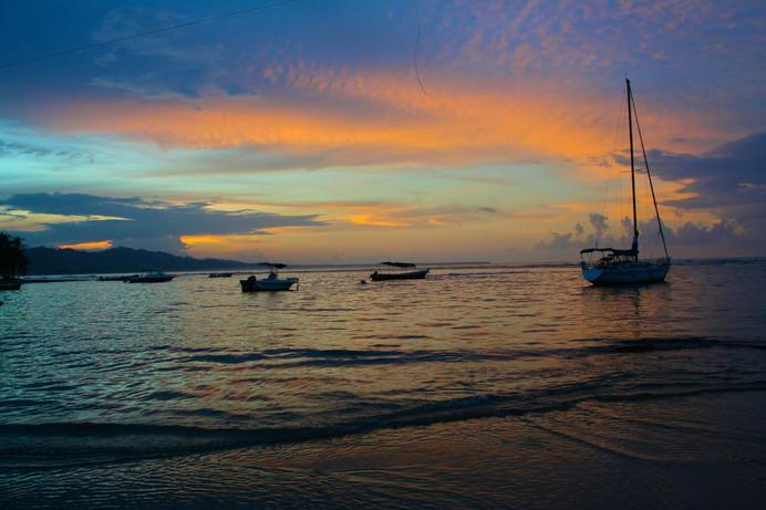 Puerto Viejo - Caribbean Sunset
