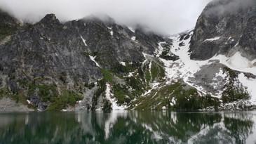 Enchantments Wilderness - Aasgard Pass From Below