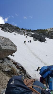 Enchantments Wilderness - Final Ascent of Aasgard Pass