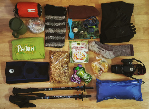 Take a Peek Into My Pack: Spring Backpacking Essentials