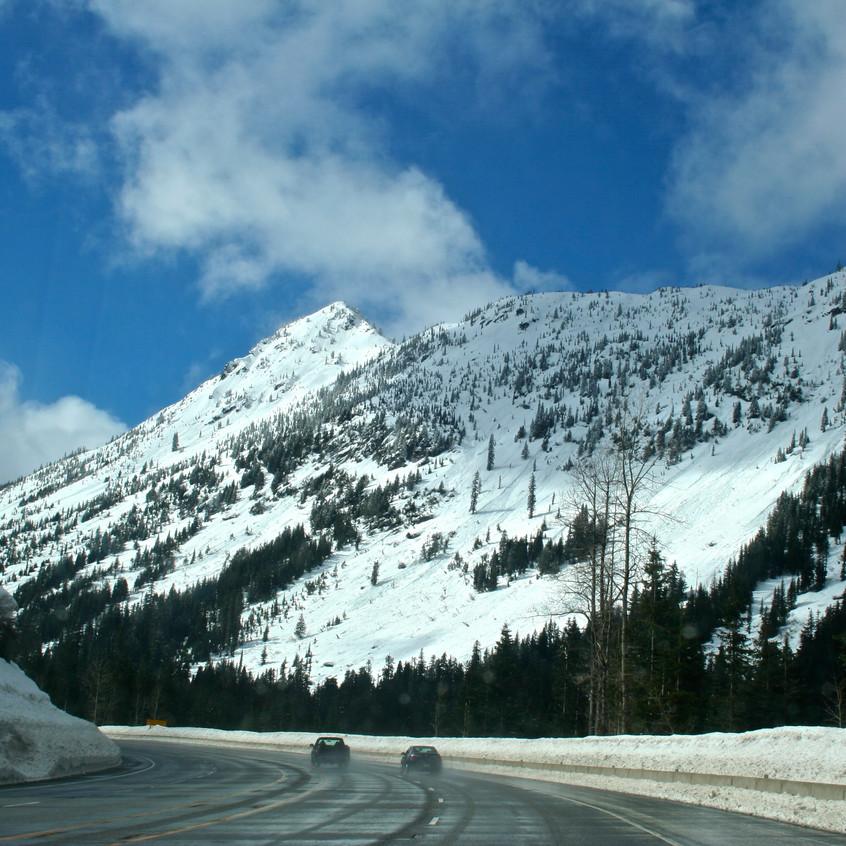 Driving Stevens Pass