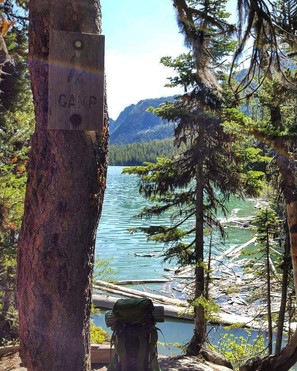 Enchantments Wilderness - Upper Snow Lake