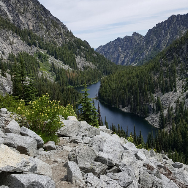 Nada Lake from Above