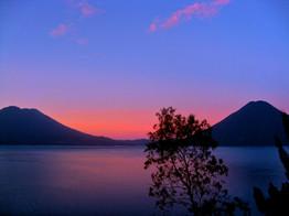 Sunrise hike at Lago Atitlan