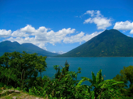Hiking around Lago Atitlan