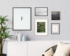 Set of 5 minimalist modern Scandinavian printable wall art. Digital photo print for your home decor.