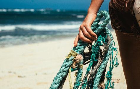 Kahuku beach clean-up
