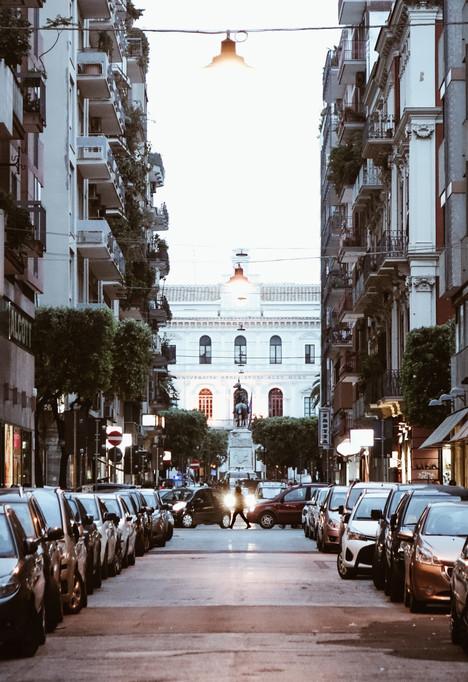 Streets of Bari, Italy