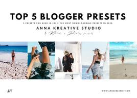 Top 5 Lightroom Blogger Presets