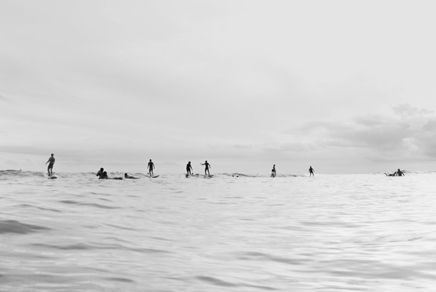 Surfing shadows