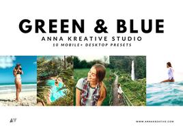 TROPICAL HAWAIIAN FILTERS. Nature Blogger Effects. Green and Blue Lightroom Presets. 10 Mobile & Desktop Lightroom Presets.