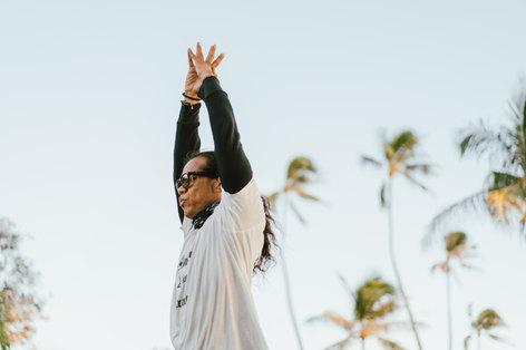 Yoga photography on Oahu