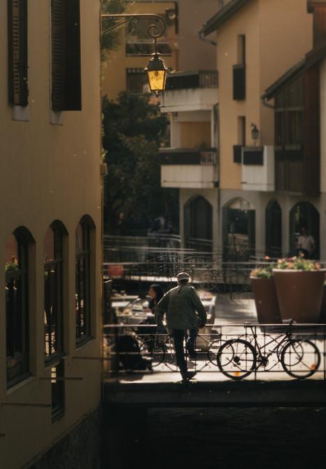 Annecy cyclist