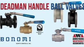 Deadman Handle Ball Valves from Bonomi