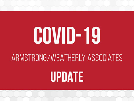 ARMSTRONG/WEATHERLY ASSOCIATES COVID-19 RESPONSE