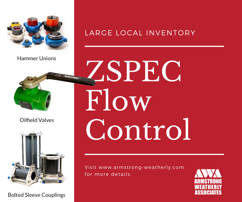 We now carry ZSPEC Flow Control Products