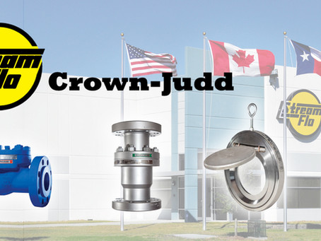 Now Carrying Crown-Judd by Stream-Flo