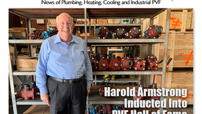 Harold Armstrong inducted into The Wholesaler's PVF Hall of Fame.