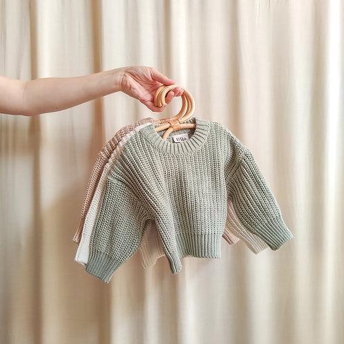 Jersey Chunky Knit Lillé
