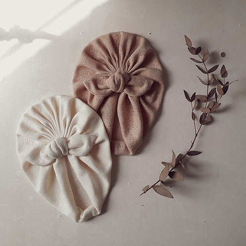 Set Organic turban (set de dos)