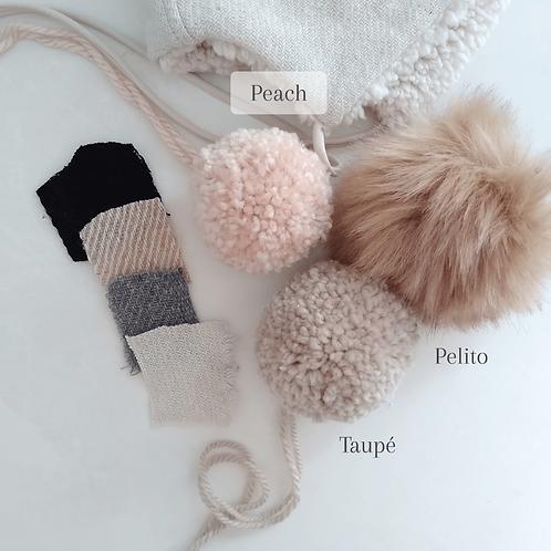 Pompom (añadir a Bonnet)