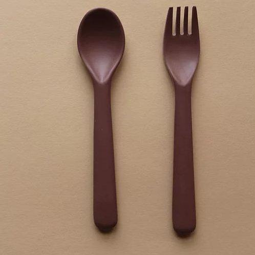 Set de cuchara y tenedor Cink