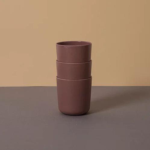 Vaso de bamboo set de 3
