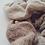 Thumbnail: Merino Scrunchie Milk & Stone