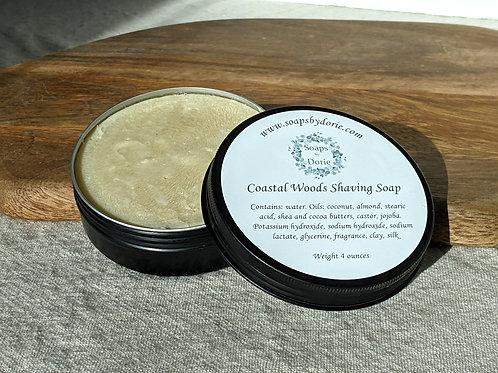 Coastal Woods Shaving Soap