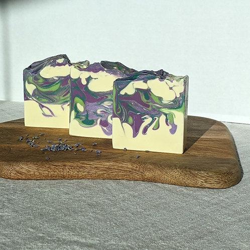 Organic Lavender + Lemon Soap