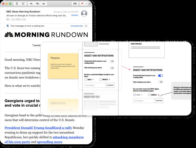 Morning Rundown newsletter