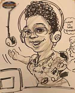 Caricature of Joi