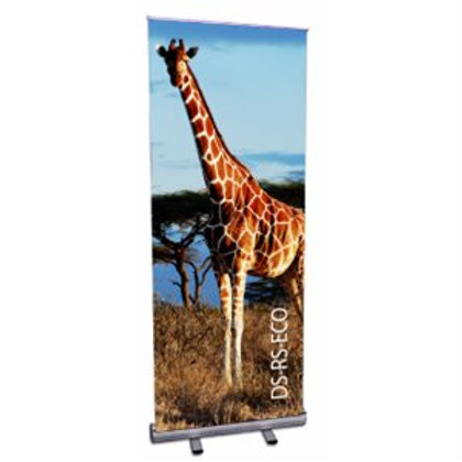 Economy Banner Roll-Up Stand