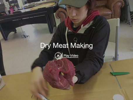 Dry Meat Making